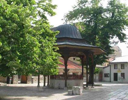 Neposredna okolina Begove džamije